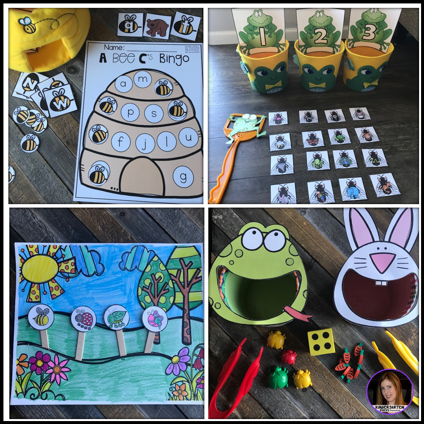 Spring Centers for Preschool April