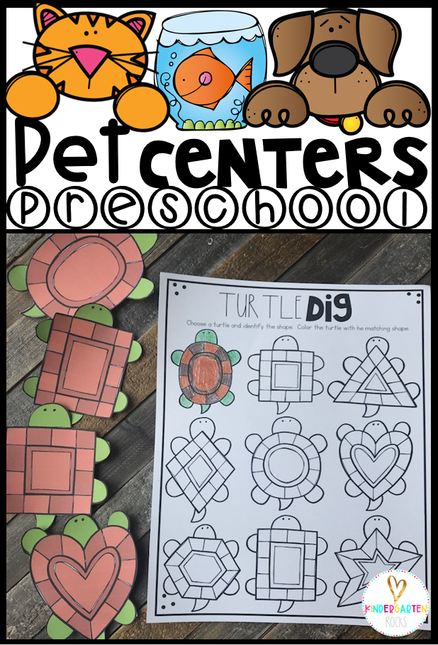 Are you looking for fun and simple thematic centers that you can prep quickly for your preschool classroom? Pet Centers were created for children ages 4-6 and mature 3 year-olds. These centers are sure to keep their interest and will help build important literacy, math and writing (fine-motor) skills. This unit is also great review and practice for children leaving preschool and heading to kindergarten. There are a lot of opportunities to practice extra alphabet and number practice.