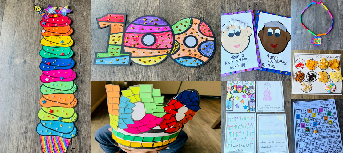 100th Day Of School Activities Kindergarten Rocks Resources