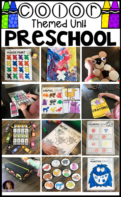 Color Identification Activities for Preschool and Free