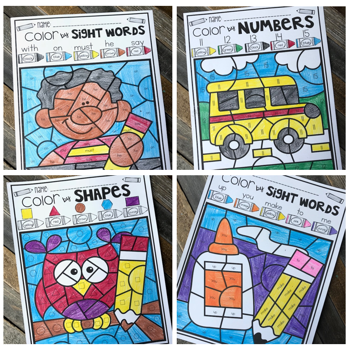 Back to School Printables Every Kindergartner Will Love