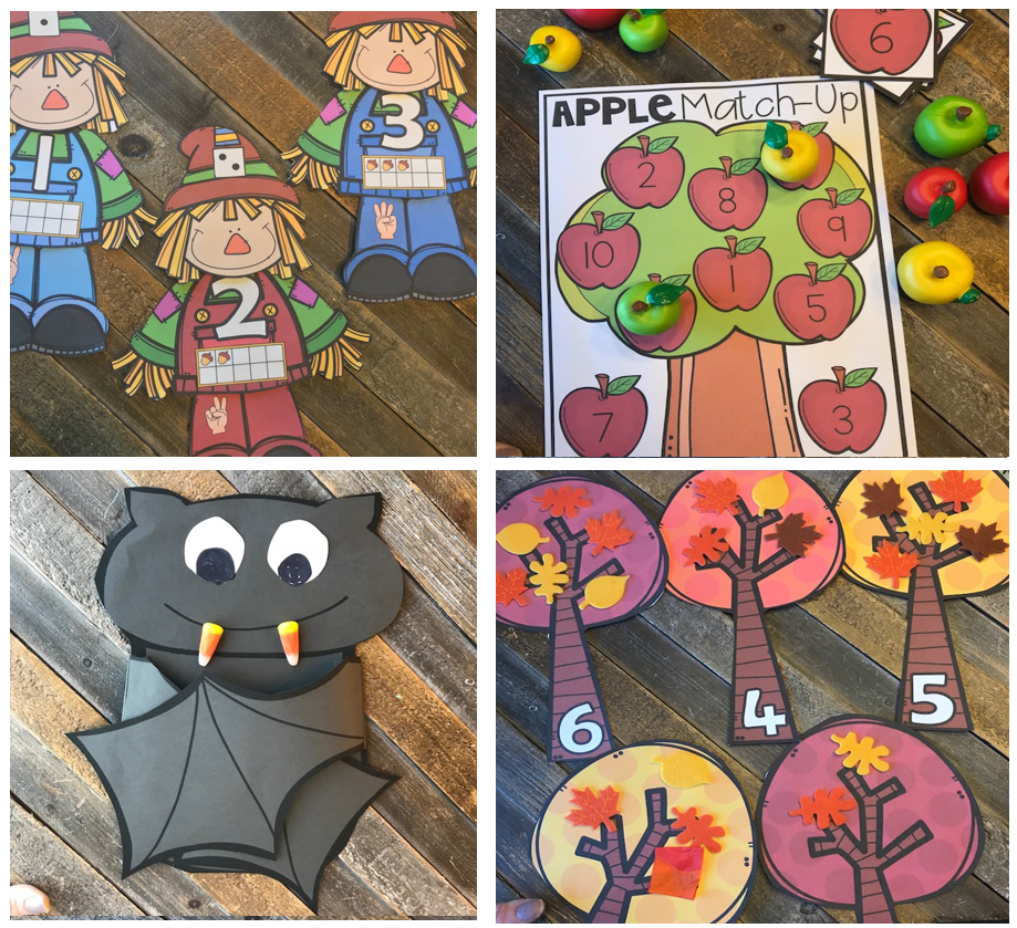 20 Amazing Fall Preschool Centers ~Hands-On Activities for Young Learners