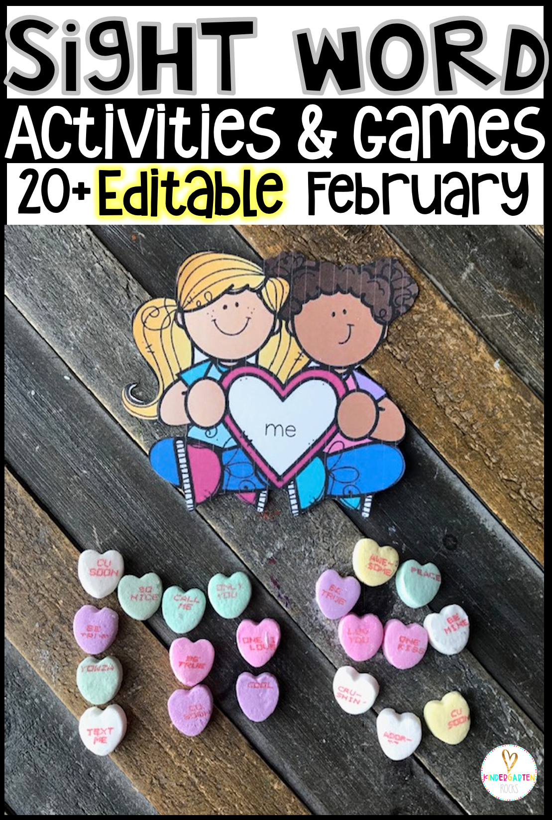 20 sight word activities games february