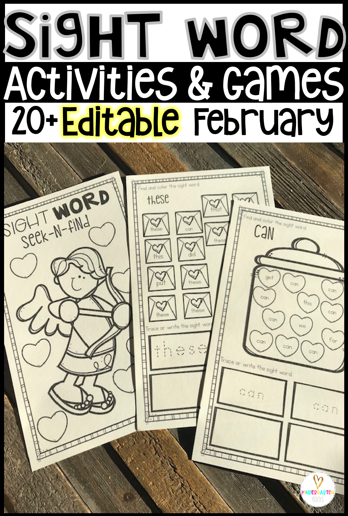 best sight word activities games