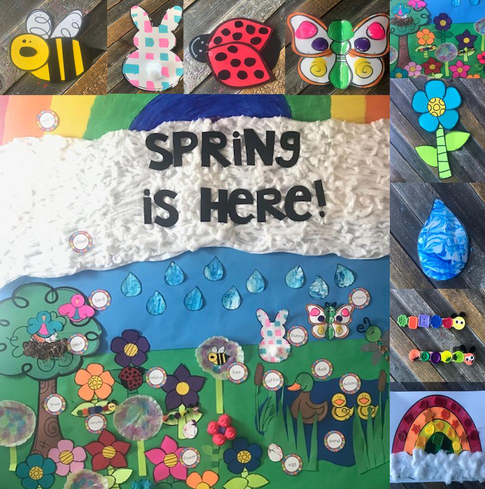 Spring Crafts for Preschool