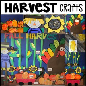 Fall Harvest Crafts Centers