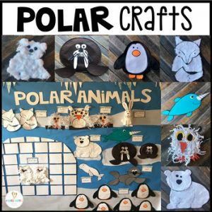 Polar Animal Crafts Centers