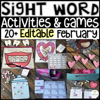 Activities February Valentine's Day