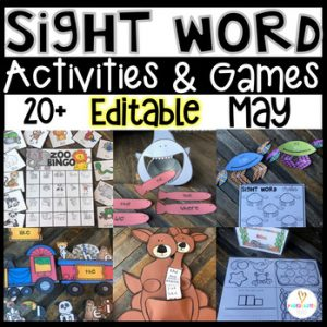 End of the Year Sight Word Games