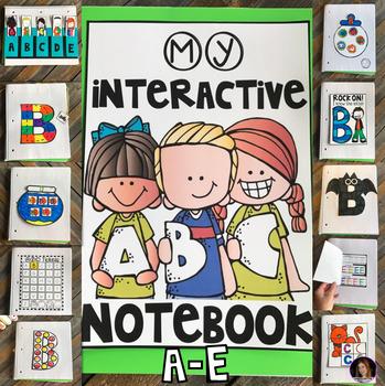 Interactive Alphabet Notebook A-E
