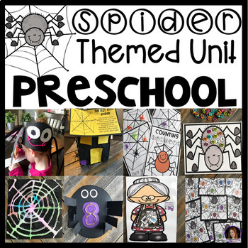 Spider Math and Literacy Centers