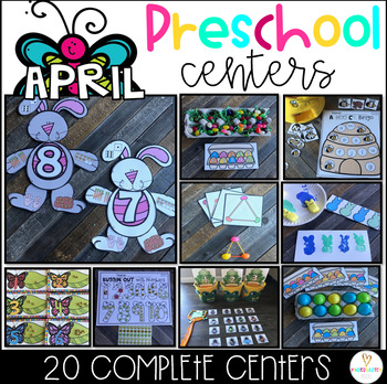 April Math and Literacy Centers