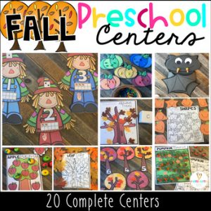 Fall Math and Literacy
