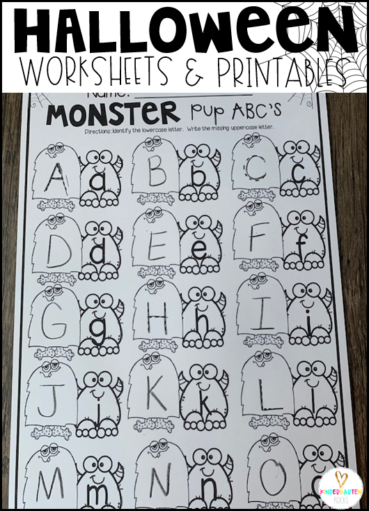 Monster Pup ABC's