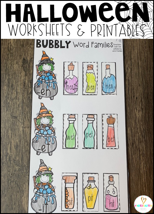 Bubbly Word Families