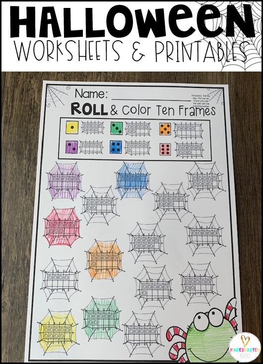 Roll & Color Ten Frames
