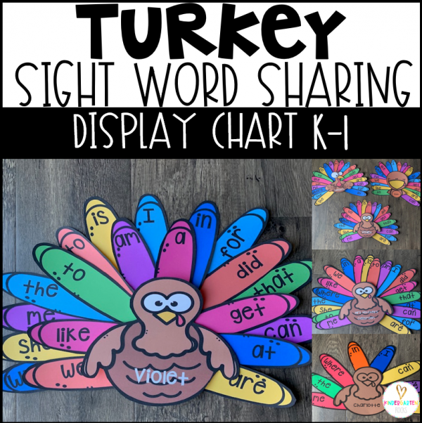 Turkey Sight Word