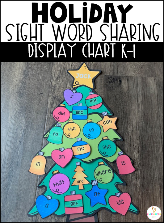 Holiday Sight Word Sharing