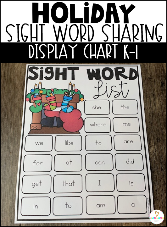 Sight Word List