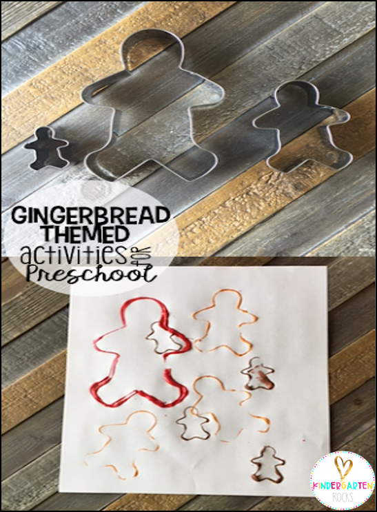 Gingerbread Themed Activities