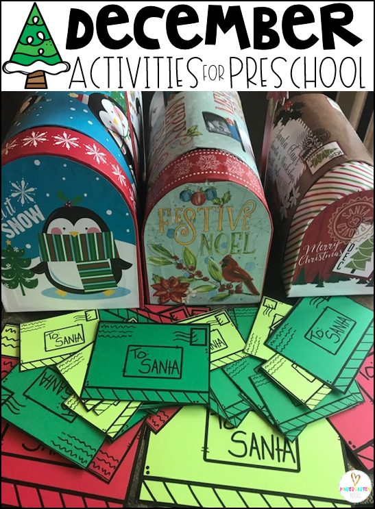 Activities for Preschool Festive
