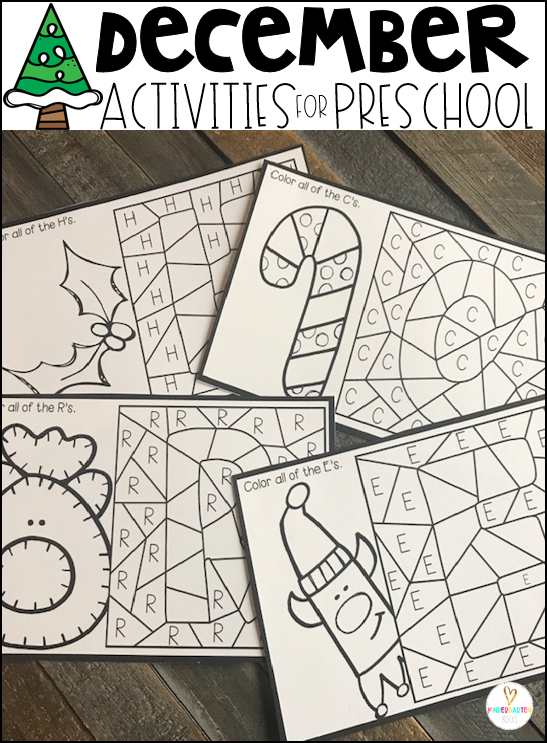 Activities for Preschool