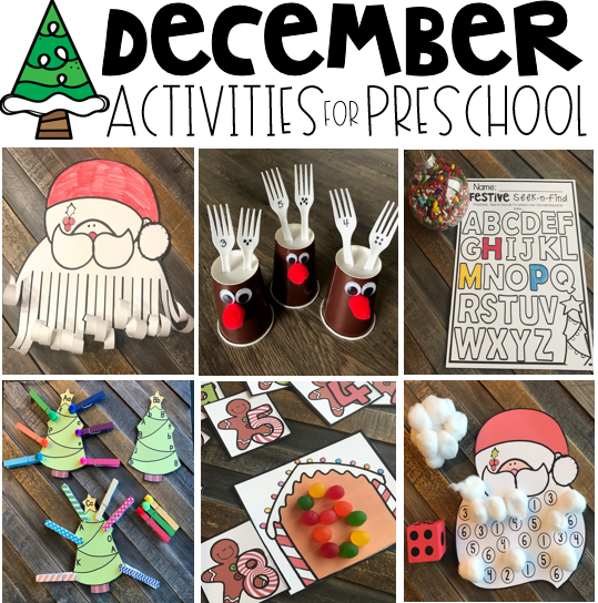 Christmas Activities for Preschool