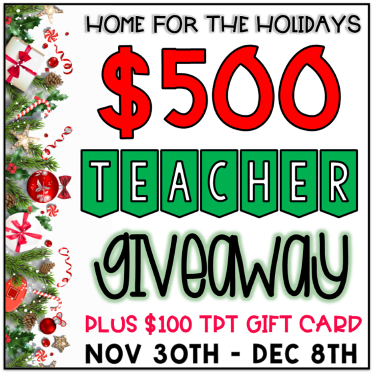 Holiday Giveaway Cash and Gift Card