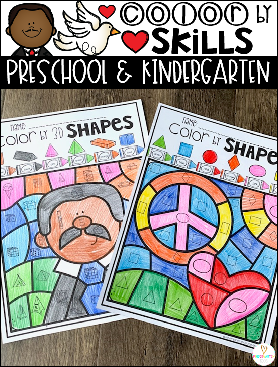 Are you looking for Martin Luther King Jr Activities that you can add to all of your centers?  Then Color by Skills Martin Luther King Jr Activities are a fun and engaging way to practice a variety of skills in your literacy and math centers.