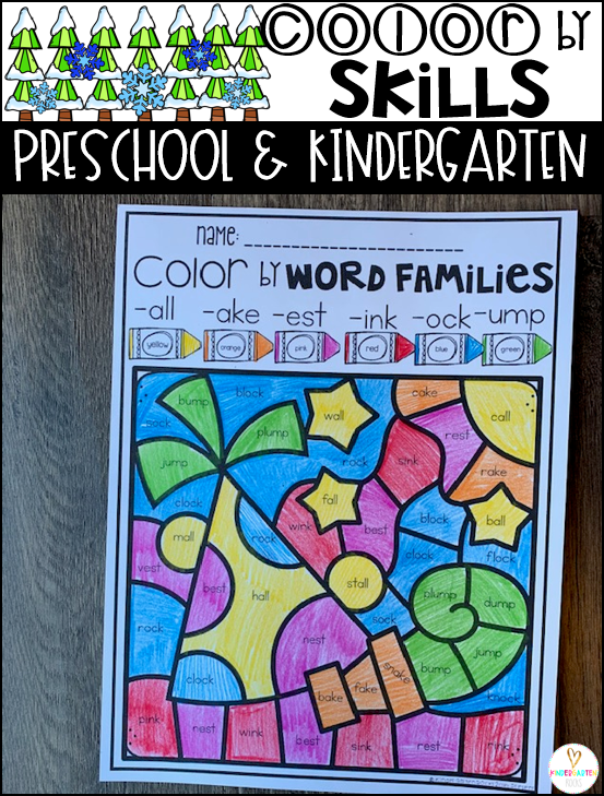 Color by Word Families