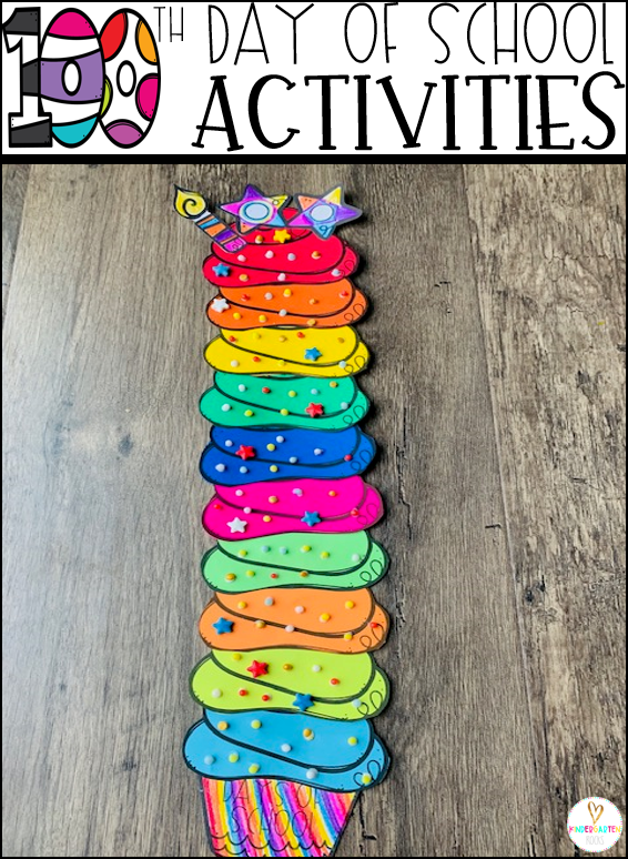 Are you looking for fun activities for the 100th day of school? Then you will love our 100th Day of School Activities! #100thdayofschool #winteractivities