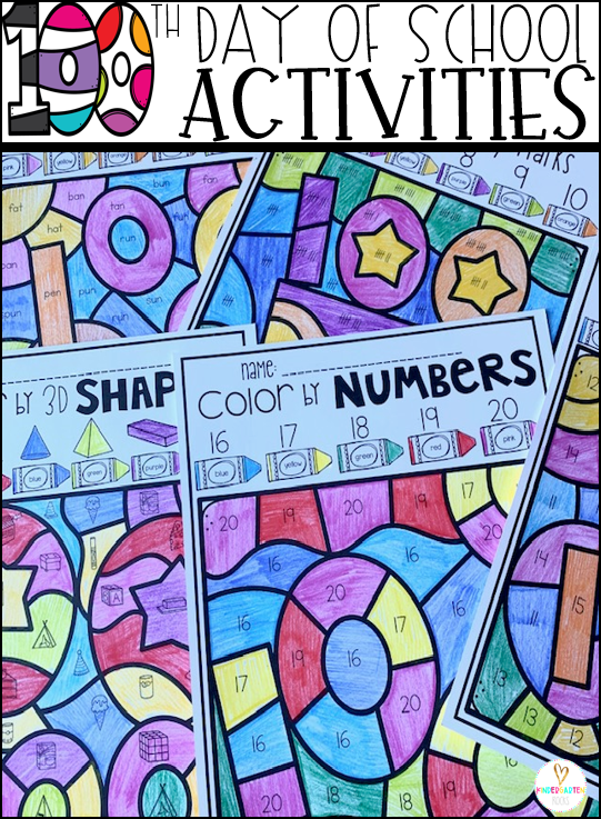 100th Day of School Fun Activities