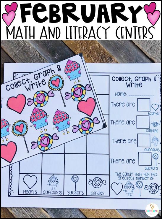 Valentine's Day Math Graph