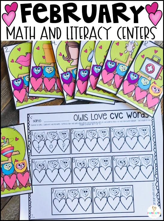 Valentine's Day Math Love Words