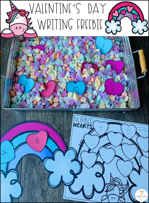 Valentine's Day is on the way. Fill your centers with fun hands-on centers. This freebie will make that easy for you! #freebie #valentinesday