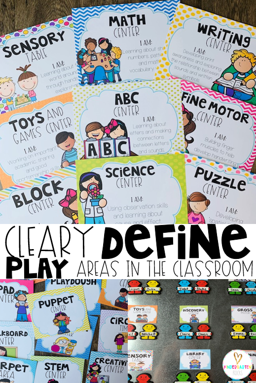 Structure play in your preschool classroom to improve and build social skills. Behavior management made easy through prevention! #behaviormanagement #preschool