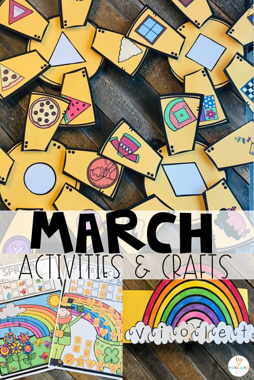 Are you looking for fun and simple thematic centers that you can prep quickly for your preschool classroom? Spring Activities for Preschool is just what you need. They will love the sunny shape match, seek-n-find match and rainbow name crowns.