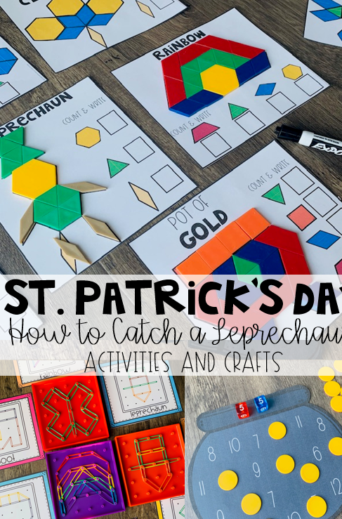 Do you love the book How to Catch a Leprechaun? Are you looking for fun St. Patrick's Day activities for kids? Then you will love How to Catch a Leprechaun Activities and Centers.