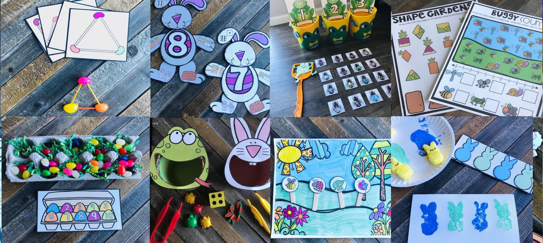 Spring Centers for Preschool