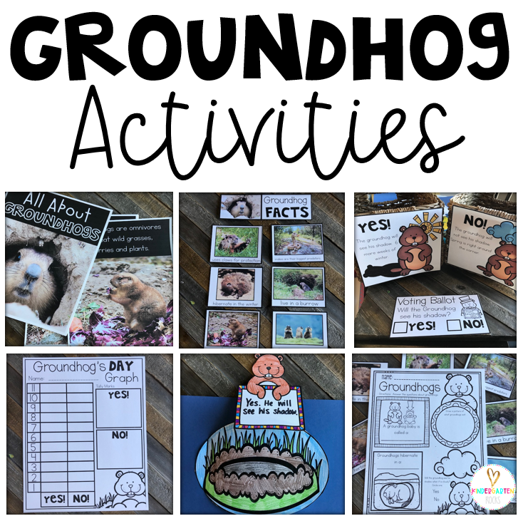 Groundhog's Day Activities and Crafts