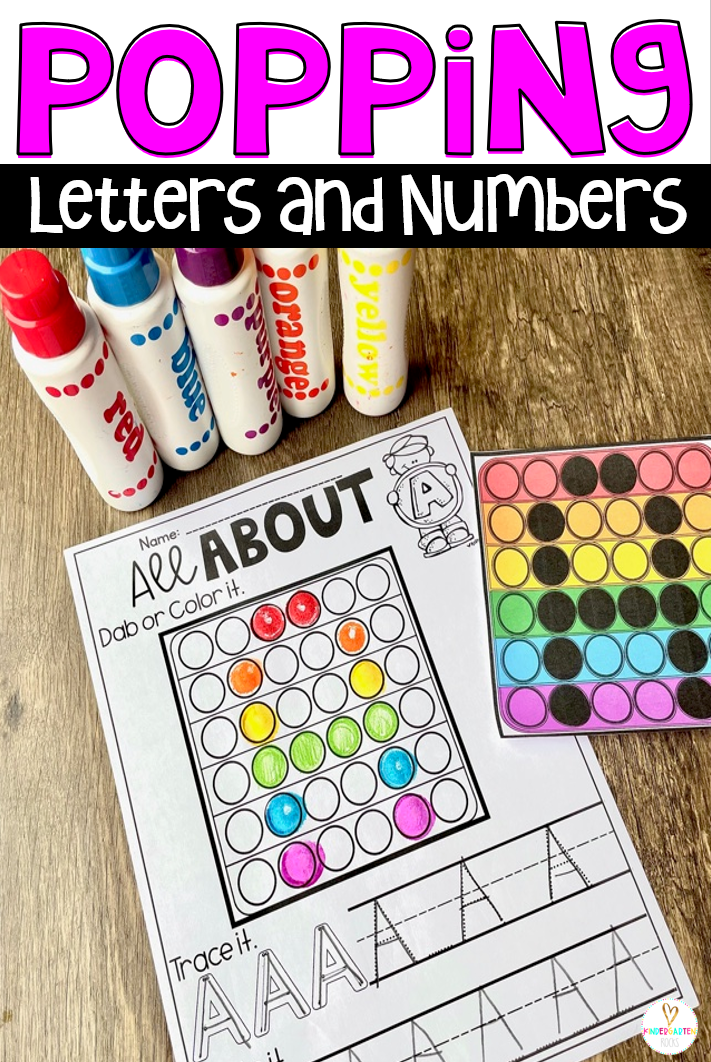 Practicing letters and numbers has never been so fun! The boys and girls love their pop-its and their pop-its will help them practice building, writing and identifying letters and numbers.