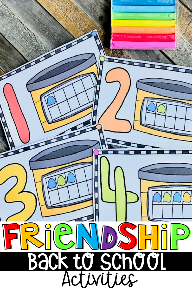 Are you looking for back to school, and the first week of school activities and centers that are hands-on and fun for students that will make the transition to school easy for you, as well as your students? Then, you will love our Back to School Friendship Unit!